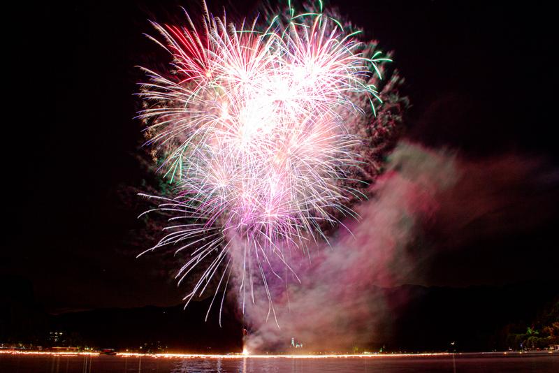 Fireworks Lake Bled