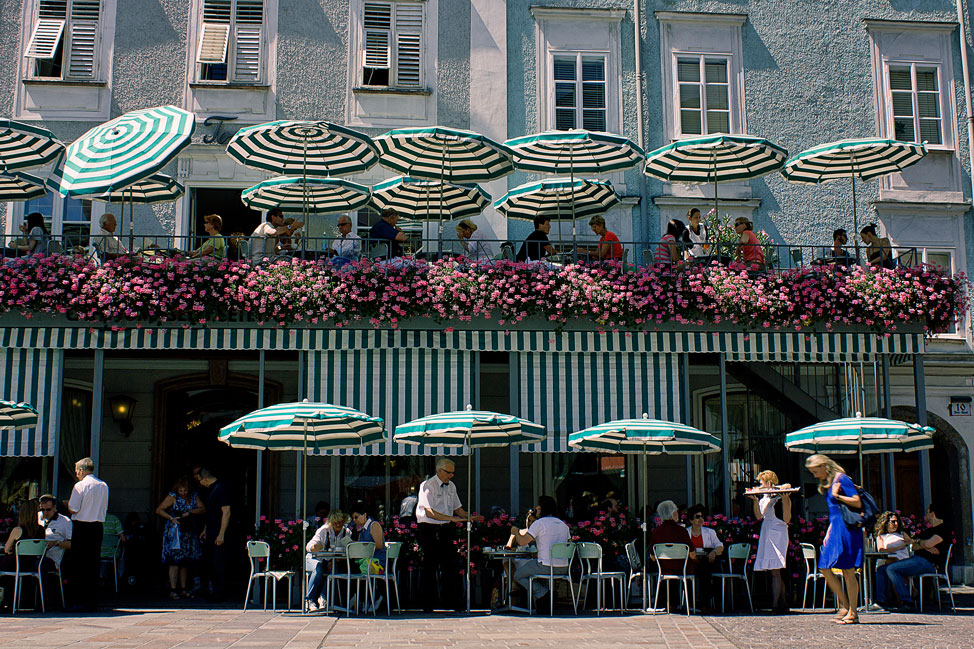 A Salzburg Cafe