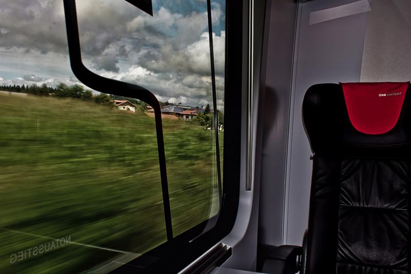 Eurail Enroute to Salzburg