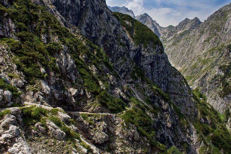 Hiking German Alps