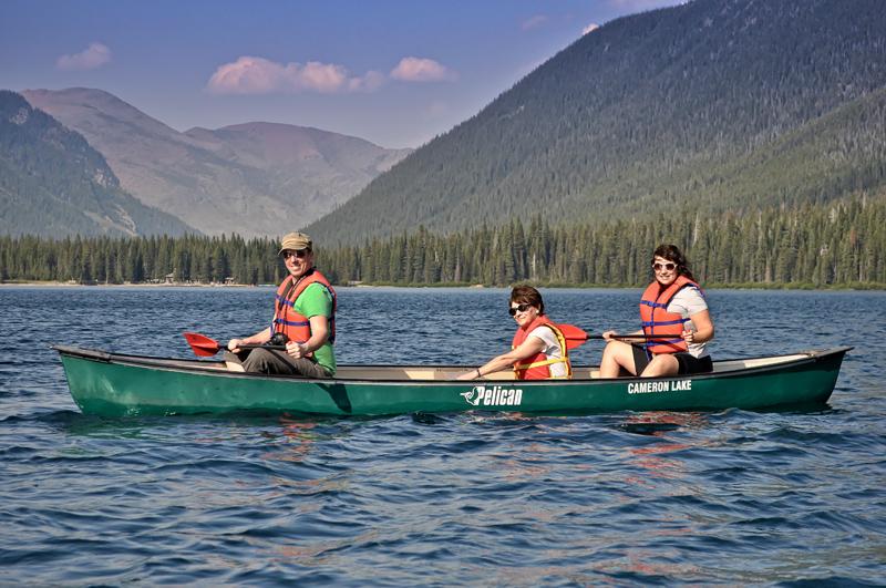 Cameron Lakes Alberta