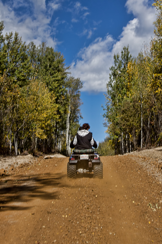 Quadding Peace Country