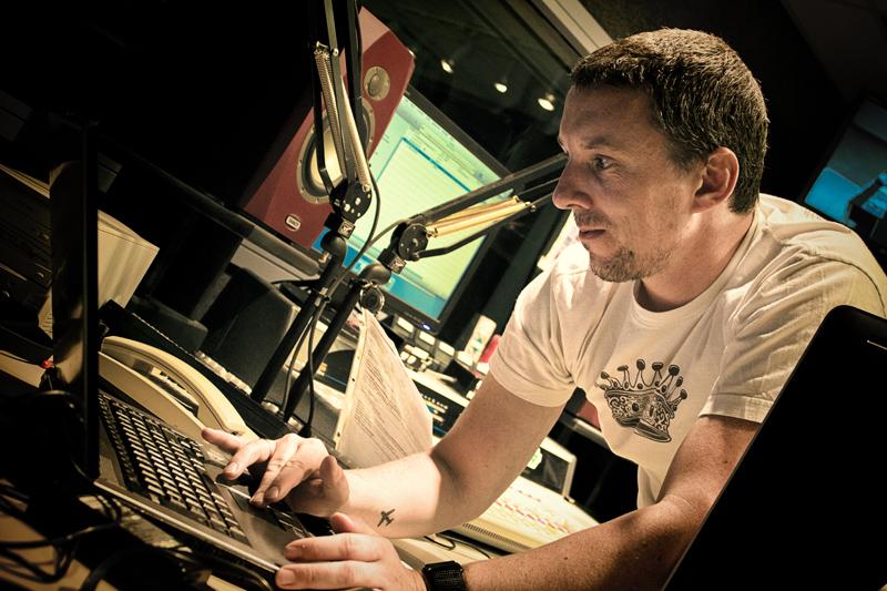 Travel Radio Pete Setting Up
