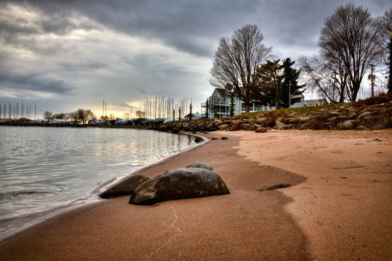 Bayfield Wisconsin Beach