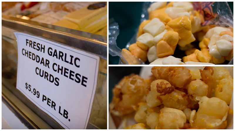 Cheese Curds Collage