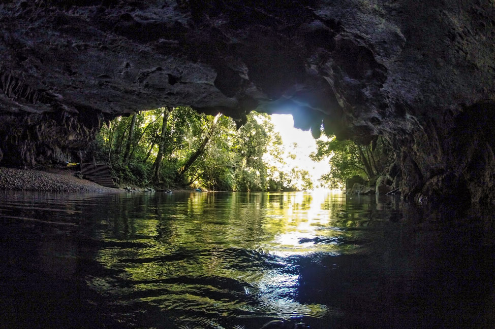 Belize Cave Tubing - Inside the Caves
