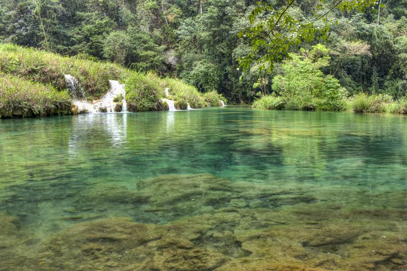 Swimming In Semuc Champey Guatemala Hecktic Travels