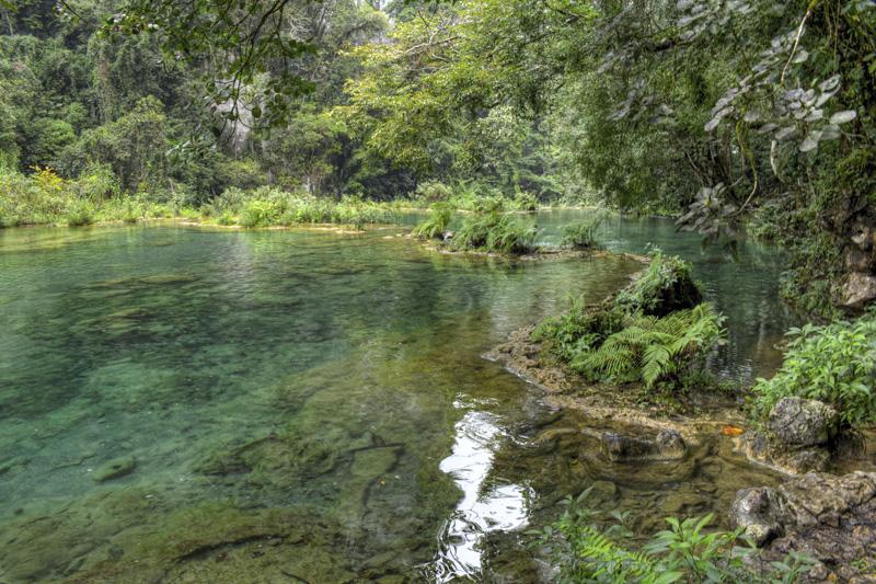 Serenity at Semuc Champey