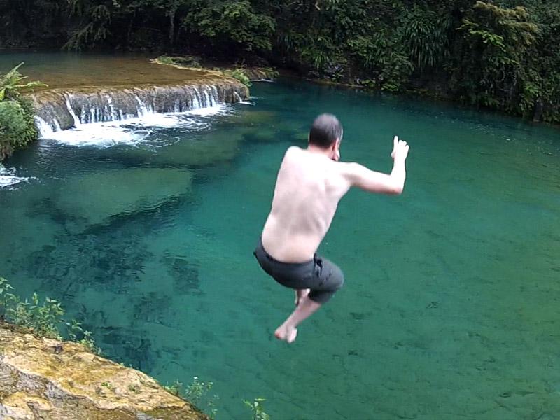 Swimming Semuc Champey