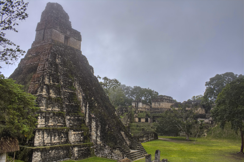 Temple One at Tikal