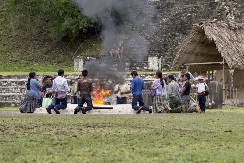 A Ceremony at Tikal