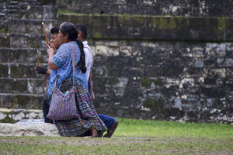 A Prayer at Tikal