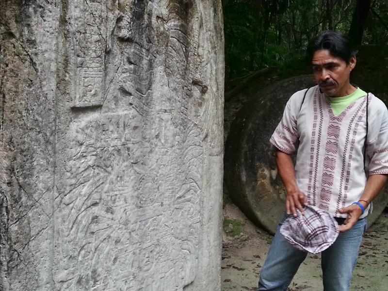 Abel at Tikal
