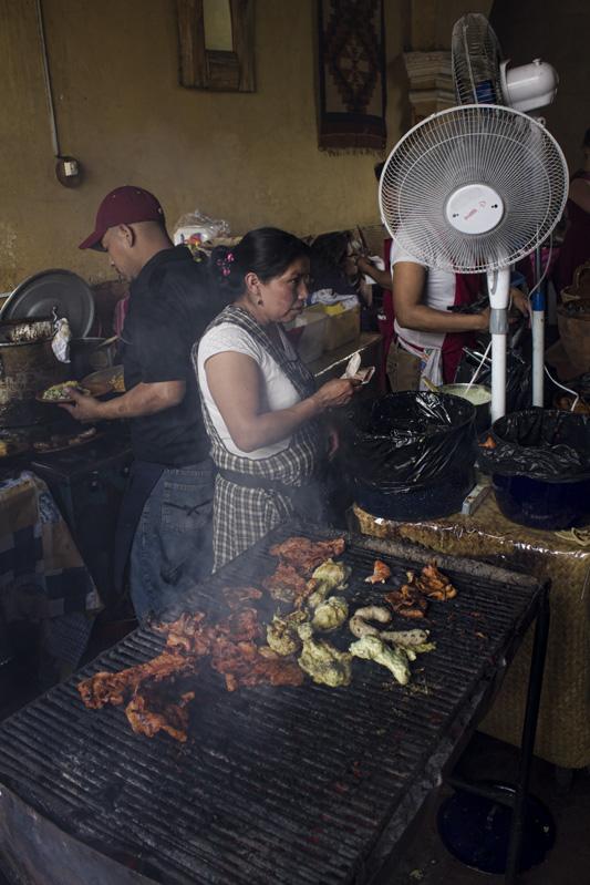 The Kitchen at Rincon Tipico - Antigua, Guatemala