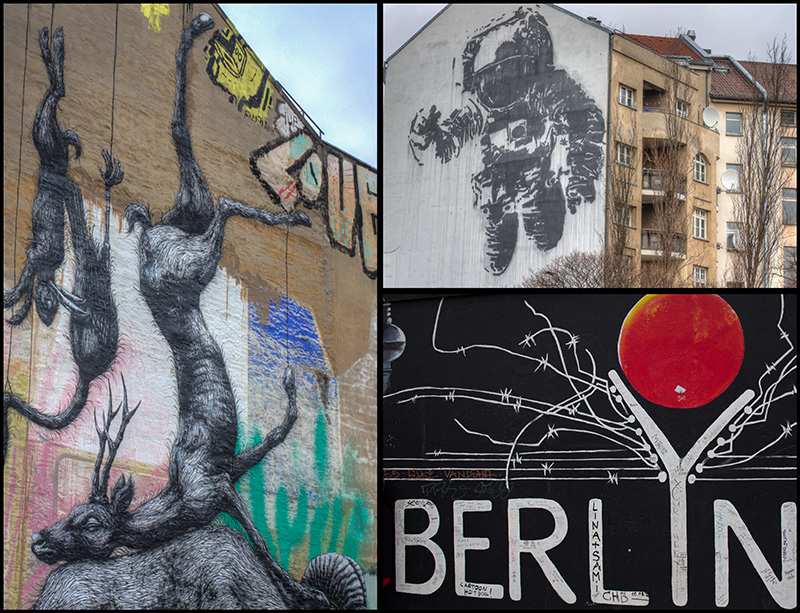 Berlin Street Art - Grid