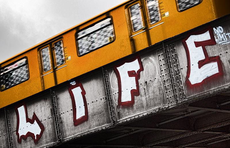Berlin Street Art - Life