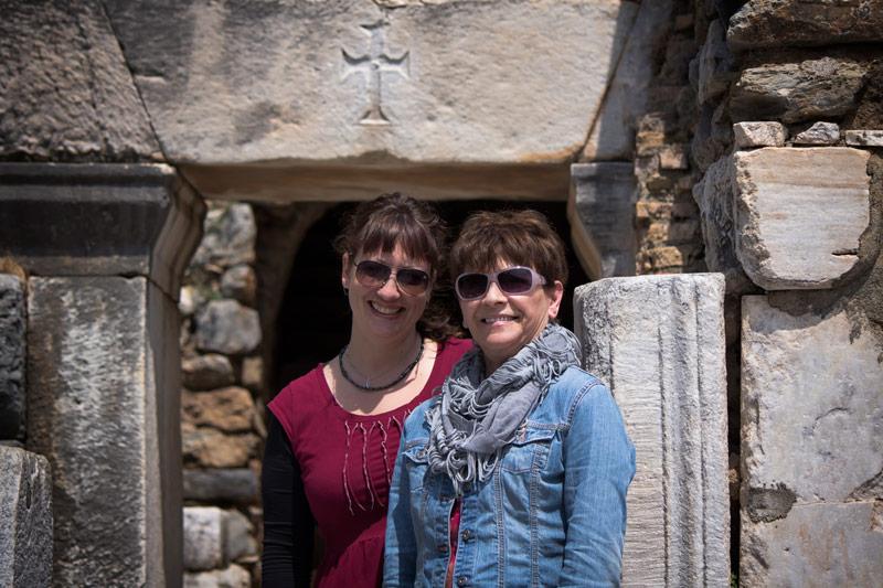 Dalene and Kay at Ephesus