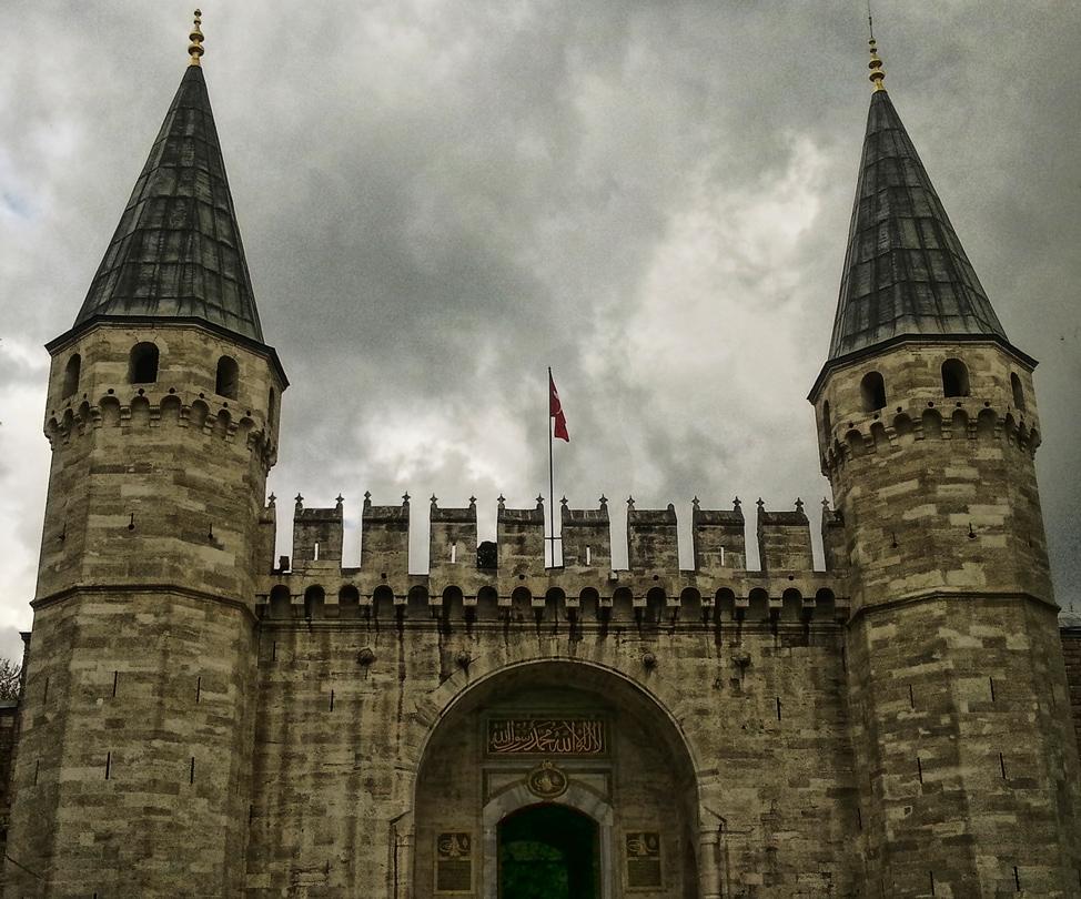 Entrance to the Topkapı Palace
