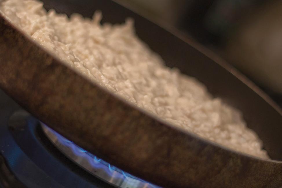Turkish Food - Burnt Chicken Over Flame