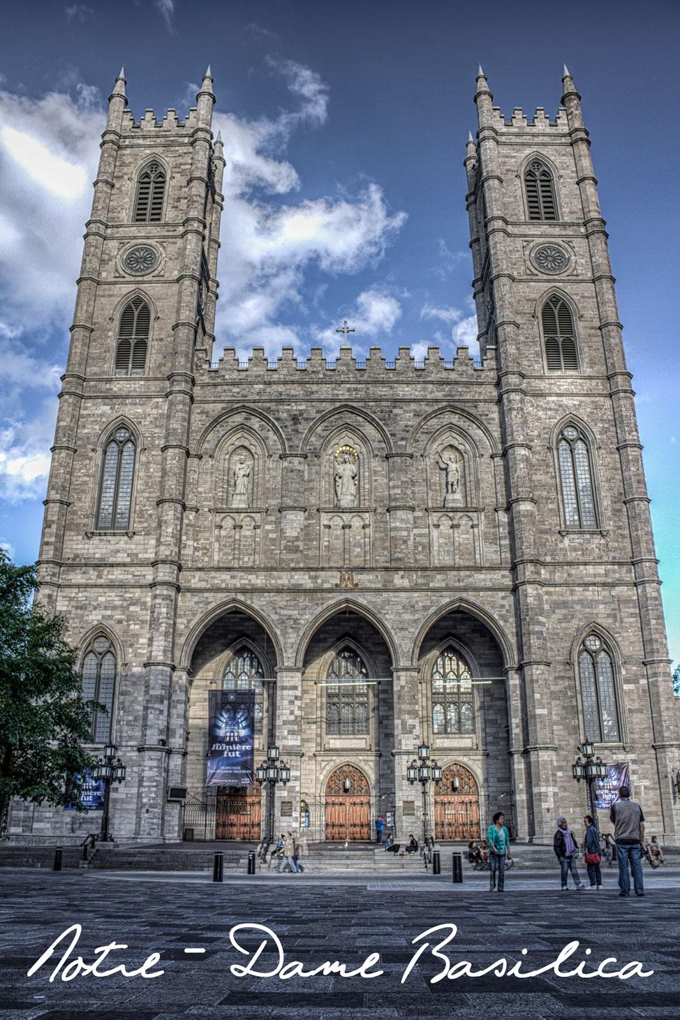 Basilica Notre Dame Québec