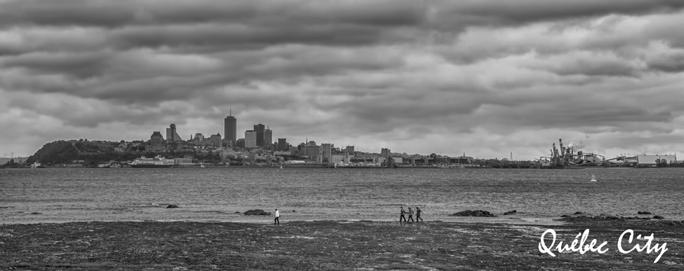 Québec City from Across the St. Lawrence