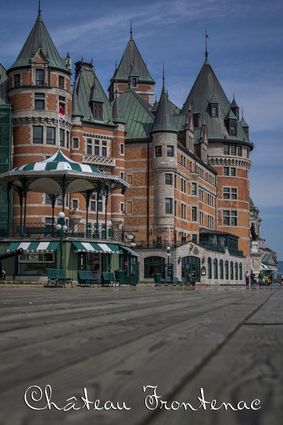 Chateau Frontenac Old Québec