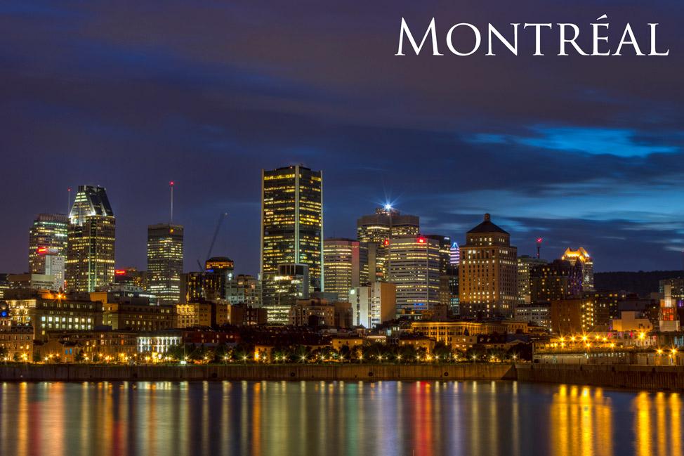 Montréal Skyline at Dusk