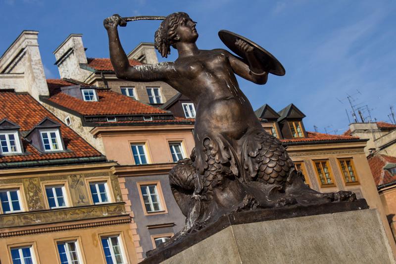 Mermaid Warsaw