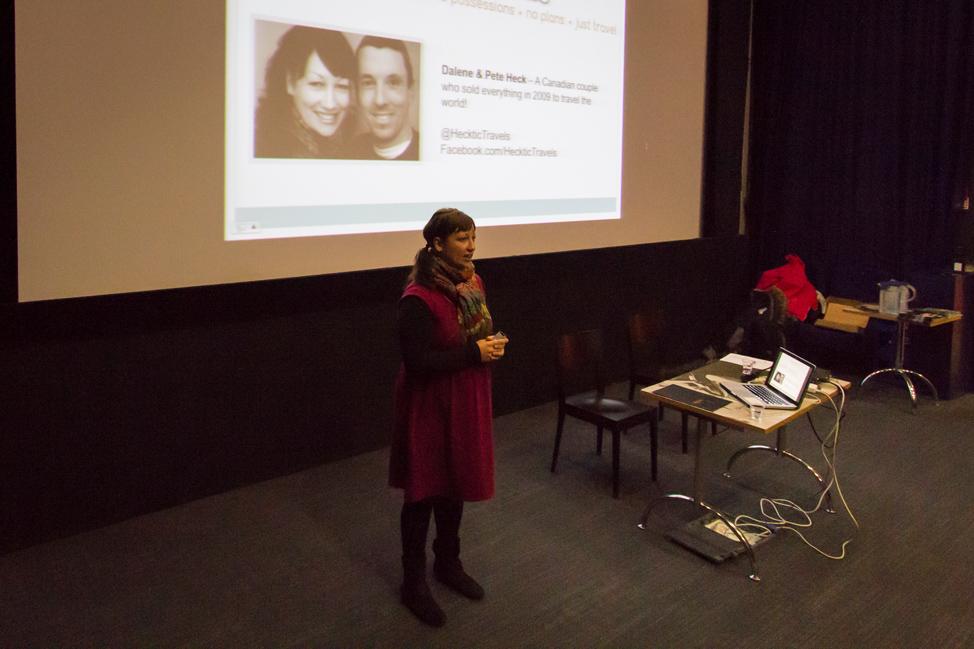 Presenting in Finland