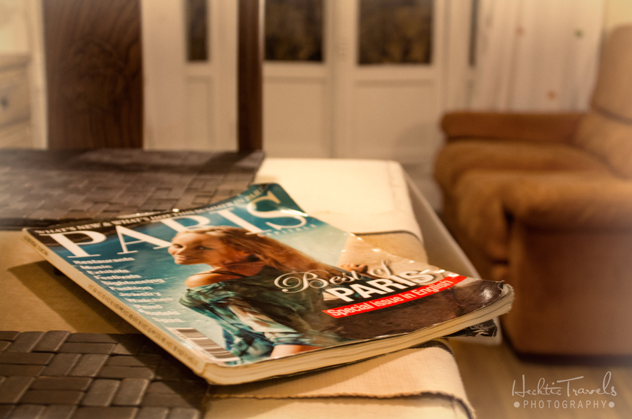 Go With Oh Paris - Coffee Table