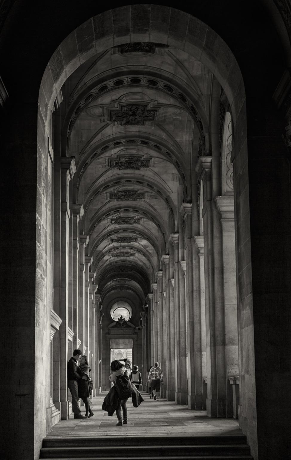 Louvre Corridors