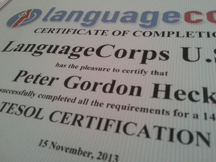 Review Languagecorps Tesol Certification Program Hecktic Travels