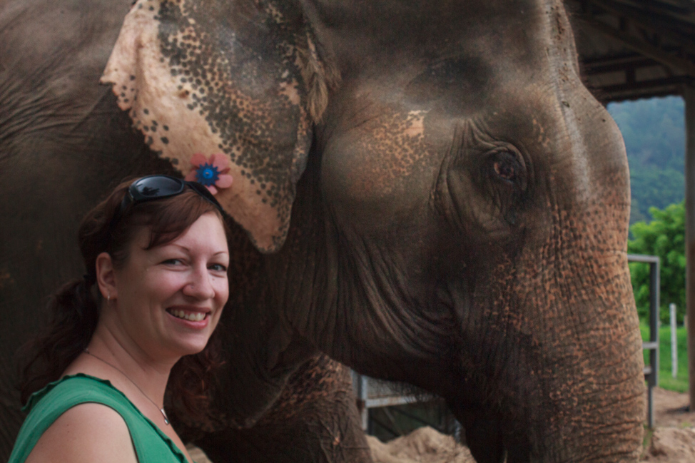 Dalene-with-elephant
