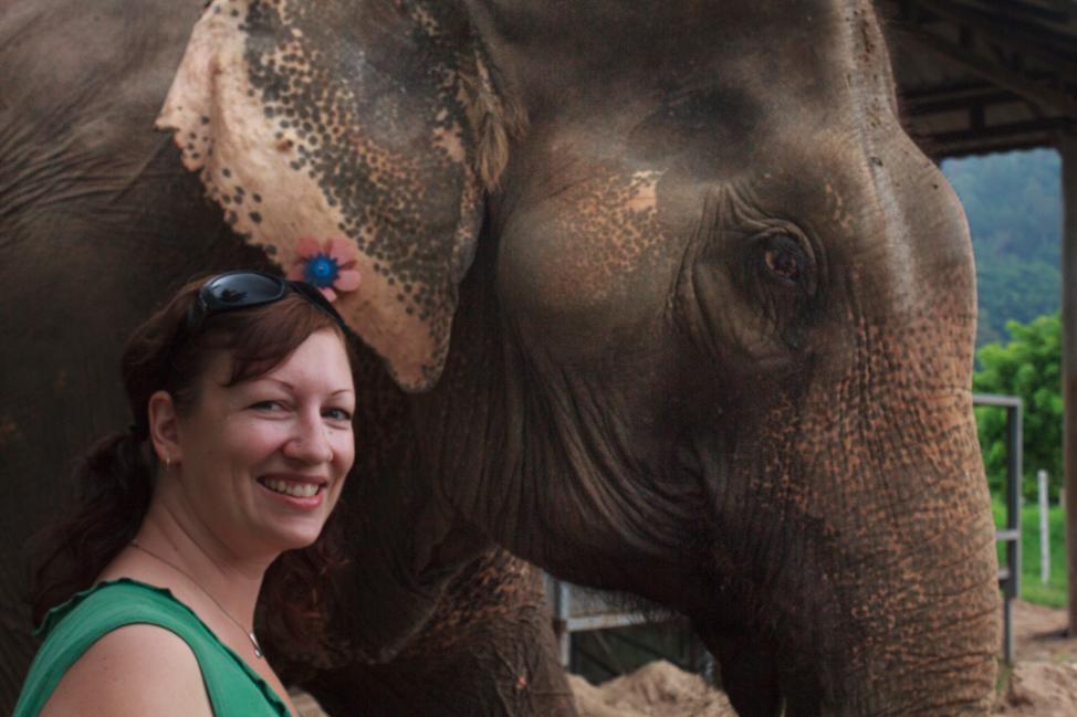 Dalene-with-elephant
