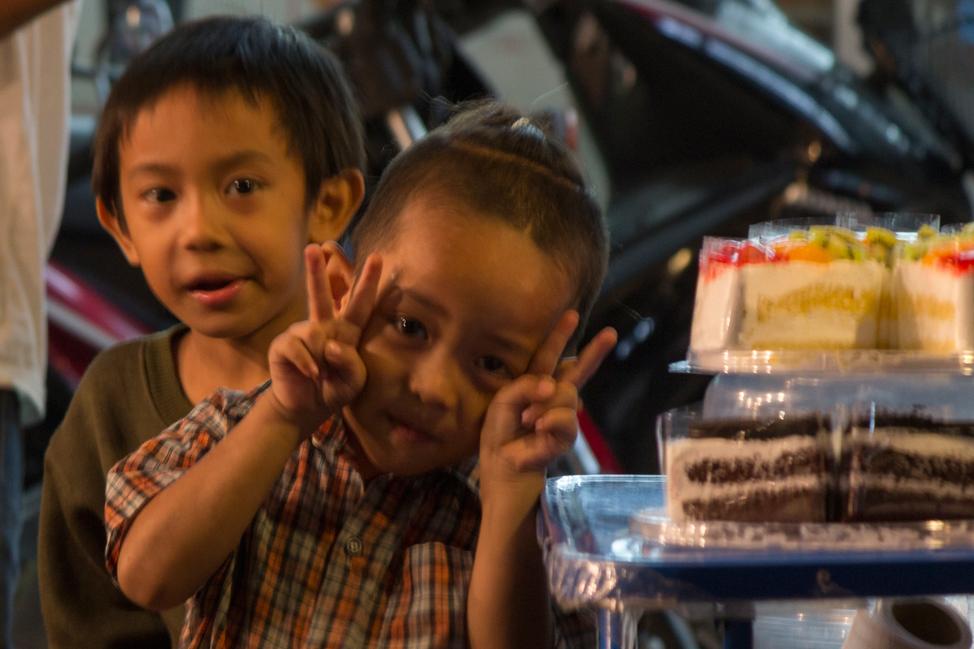 Cute Kids in Chiang Mai