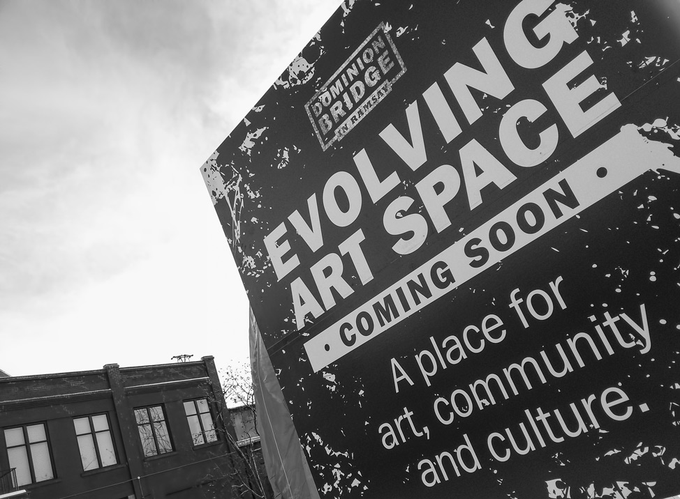 Evolving Art Space