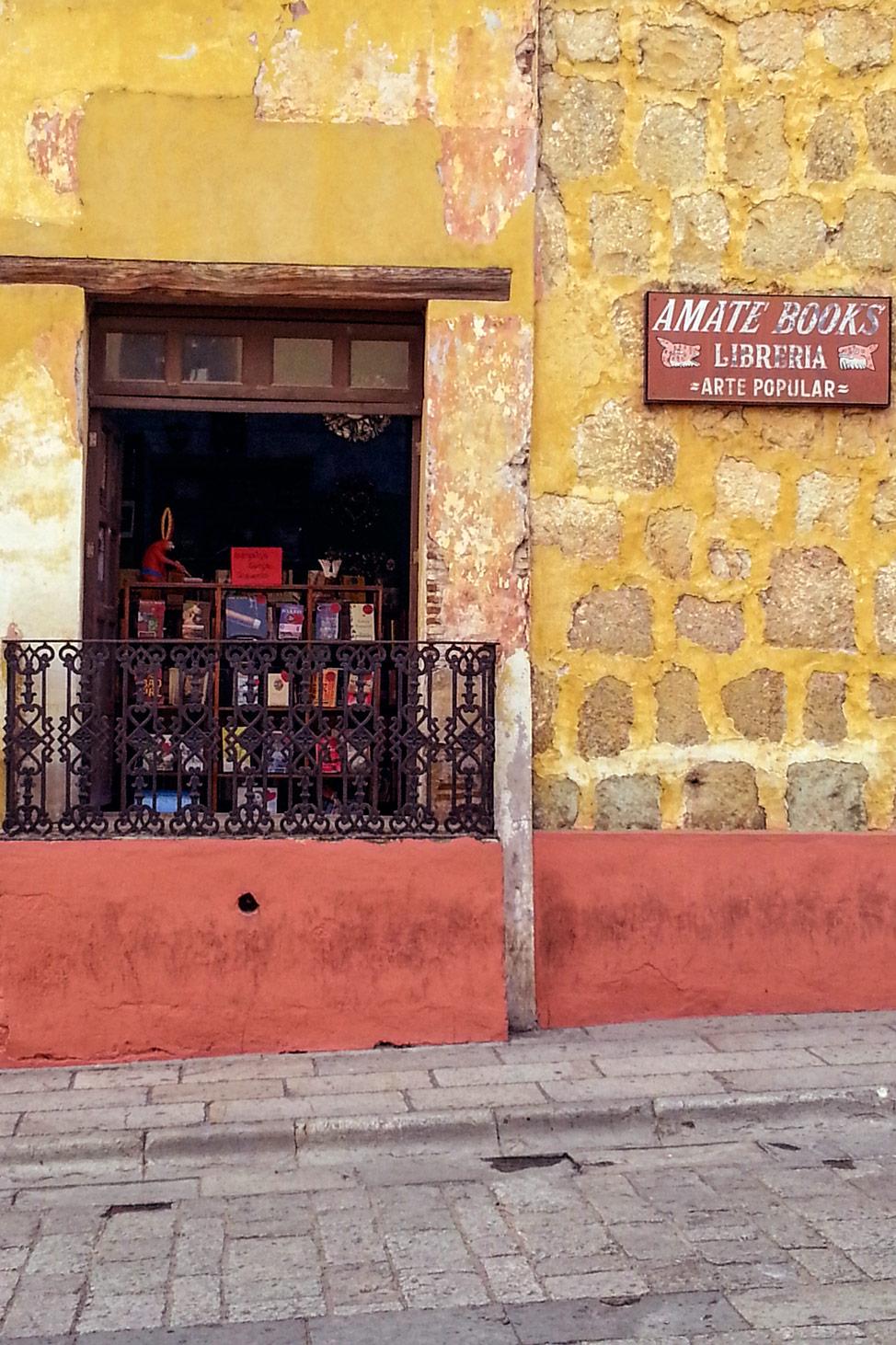 Library-Oaxaca-Mexico