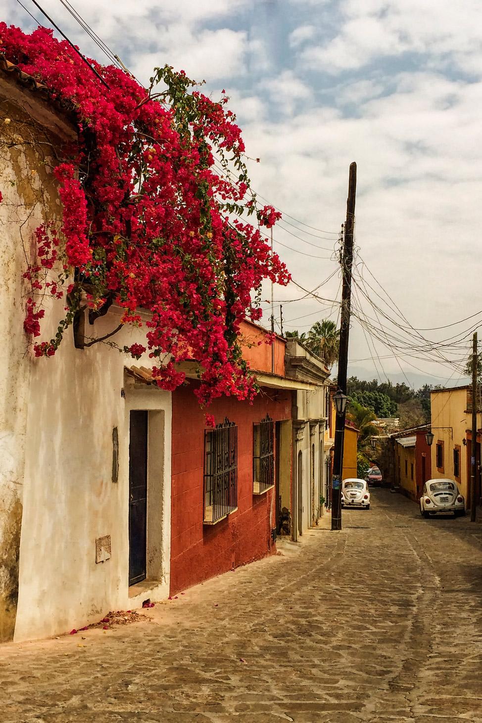 Side-street-Oaxaca