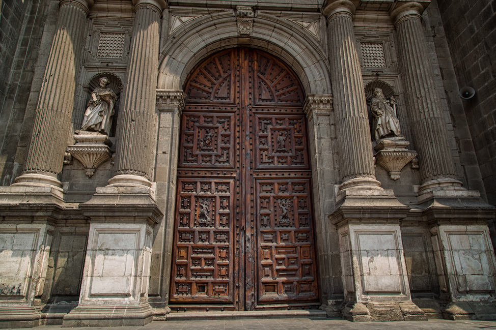 Cathedral Doors & Visiting Mexico City - the Full Impact - Hecktic Travels