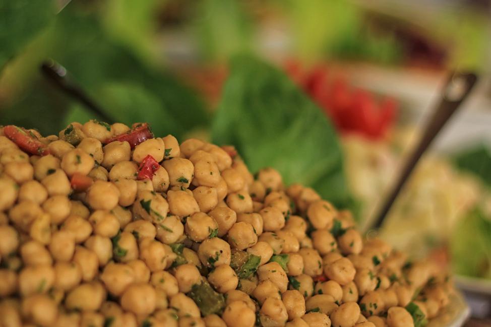 Chick Peas in Jordan
