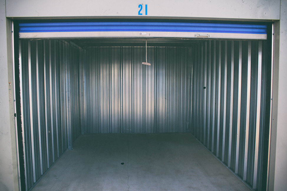 Our empty storage unit