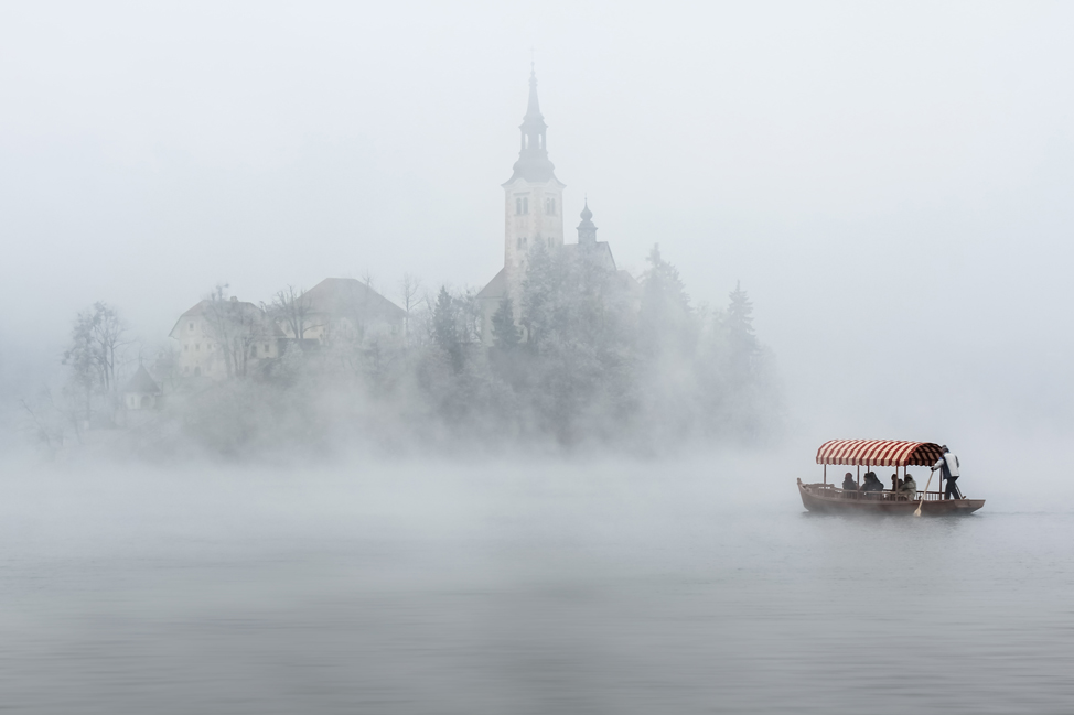 Cathedral in the Fog