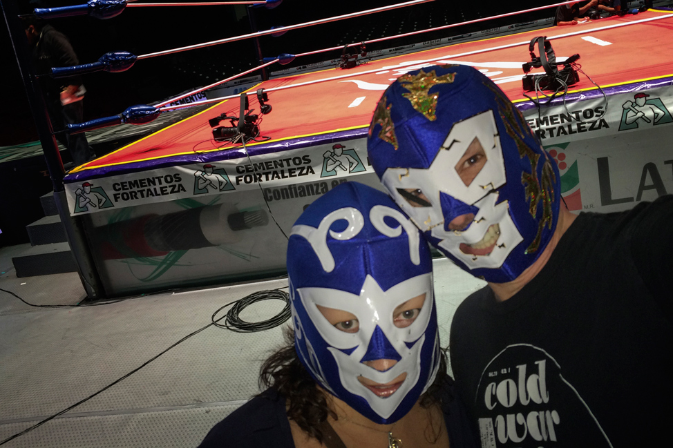 Lucha Libre - Pete and Dalene