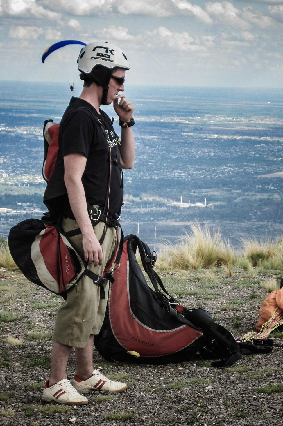 Paragliding Contemplation