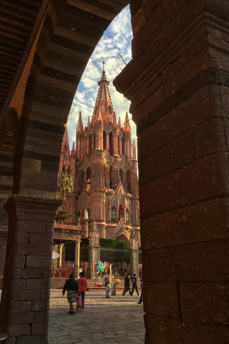 San Miguel Through the Portico