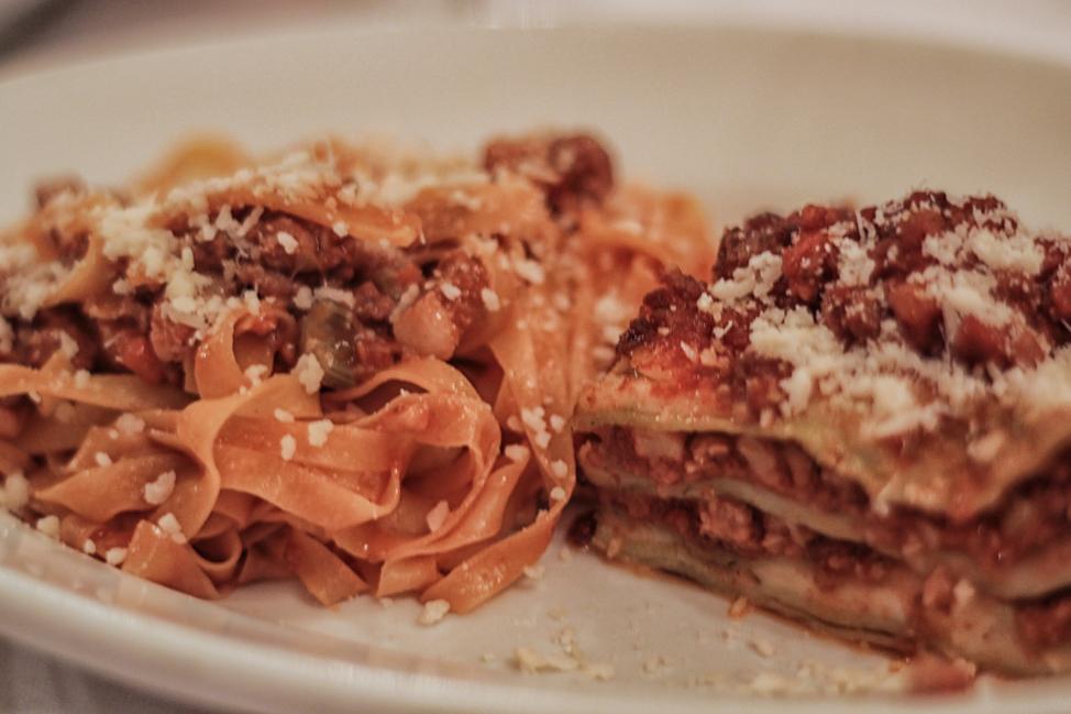 Tagliatele and Lasagna