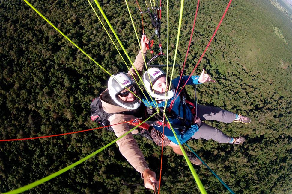 Paraglide Selfie