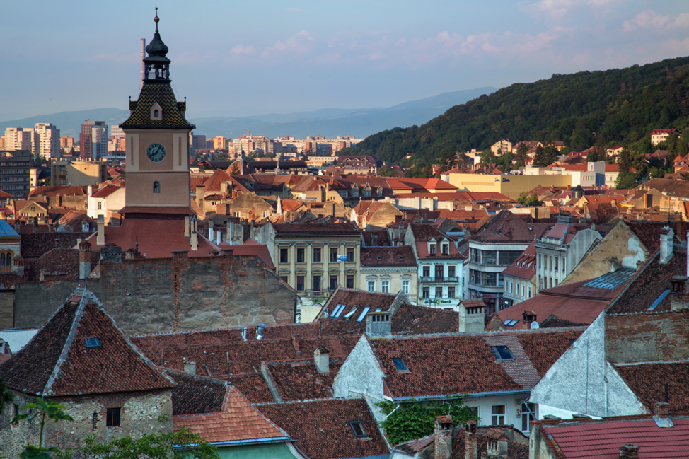 Brasov from the Black Tower