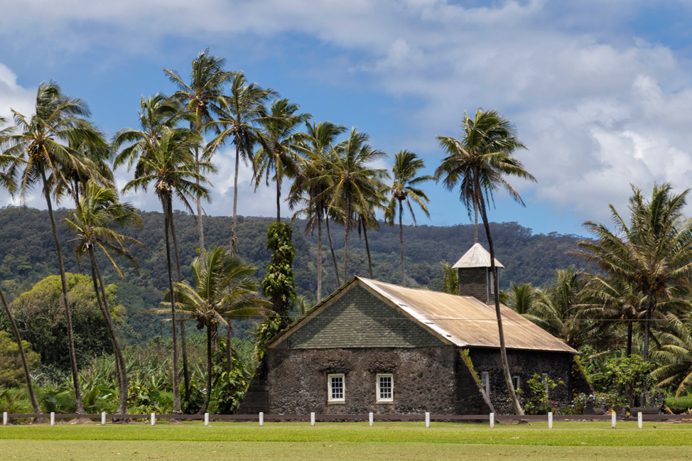 Church in Ke'anae