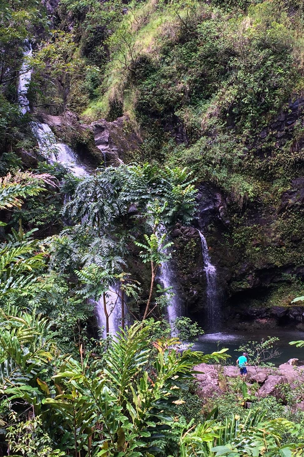 Hana Waterfall 2